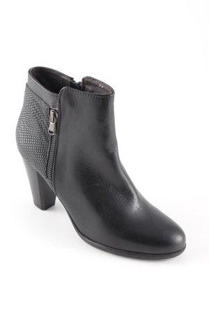 Lamica Booties schwarz schlichter Stil