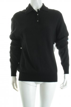 LAMM by Ballantyne Pullover schwarz Casual-Look