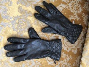 Tchibo / TCM Leren handschoenen zwart Leer