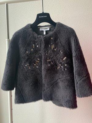 Escada Fur Jacket grey fur