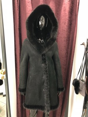 Cappotto invernale nero