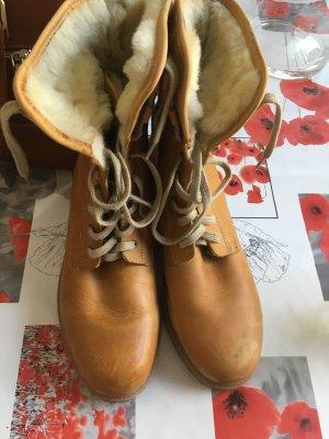 Lammfell Leder Boots