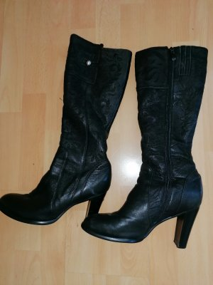 Made in Italy Jackboots black