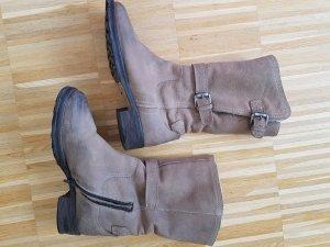Donna Carolina Desert Boots taupe
