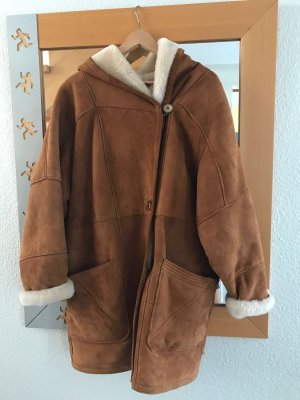 EGO Leather Coat light brown
