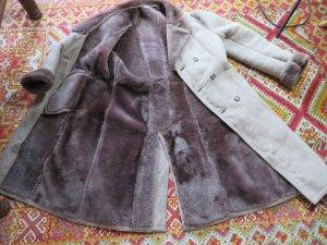 Vintage Pelt Coat light brown-sand brown pelt