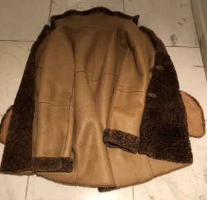 Catherine Khan Short Coat camel-brown