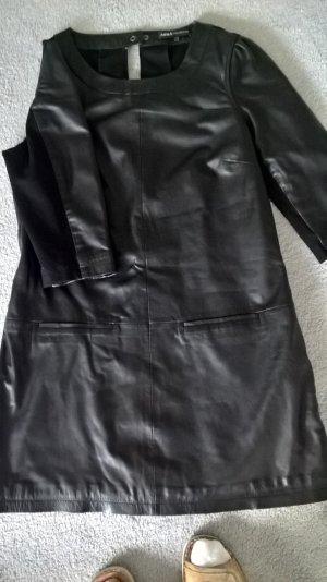 Leather Dress black leather