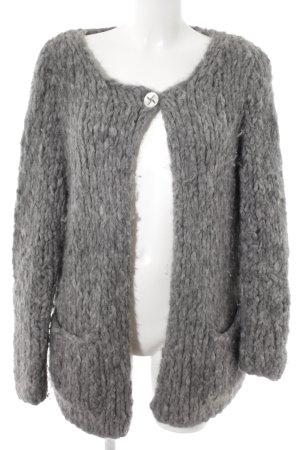 Lana D'Oro Giacca di lana grigio stile casual