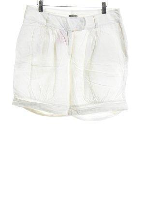Lana Short taille haute crème style décontracté