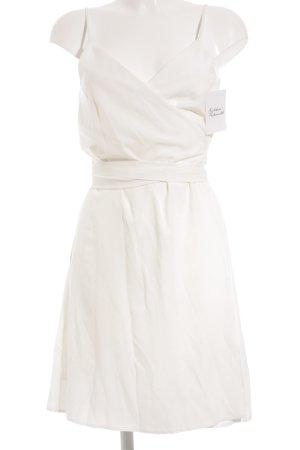 lana nguyen Wraparound white romantic style