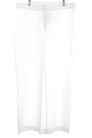 Lana Stoffhose wollweiß minimalistischer Stil
