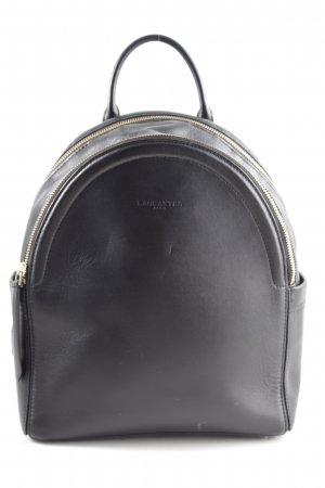 LANCASTER School Backpack black-gold-colored simple style