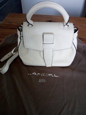 Lancel Charlie Nano Bag - neuwertig - elfenbeinfarben