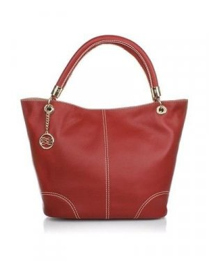 LANCEL FRENCH FLAIR SHOPPING BAG RED+ teurer extra Anhänger