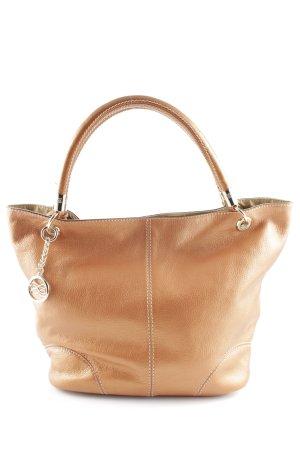 Lancel Handtasche bronzefarben Casual-Look