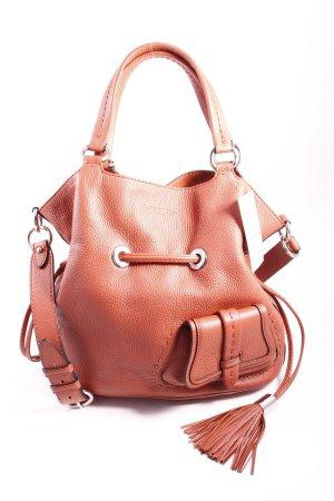 "Lancel Handtasche ""Flirt Bucket Bag Sunstone"" ziegelrot"