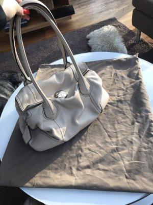 Lancel Handtasche in Creme