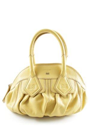Lancel Carry Bag dark yellow casual look