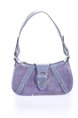 Lancel Paris Handtasche Blau Violett