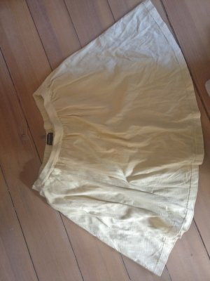 Lands' End Skater Skirt pale yellow-primrose