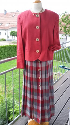 Natural Life Traditional Skirt grey-red