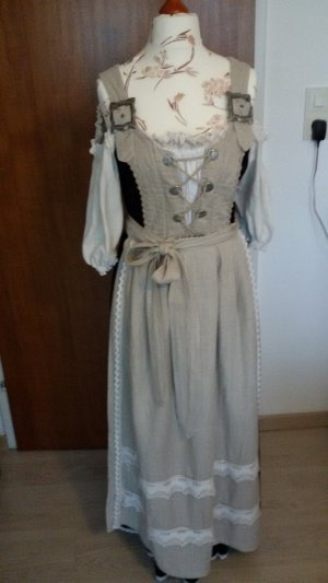 Dirndl multicolored linen