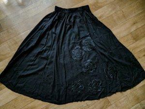 Gonna tradizionale nero Cotone