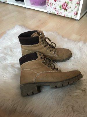 Deichmann Chelsea Boot marron clair-brun noir