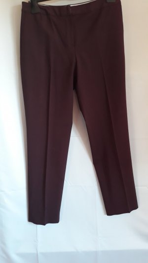 Lands End,Business Hose 93% Wolle,weinrot,schmaler Schnitt,Gr.38