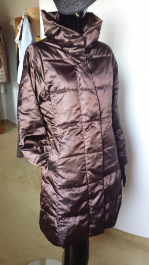 Lands' End Down Coat cognac-coloured