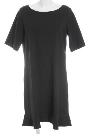 Lands' End Jerseykleid schwarz schlichter Stil