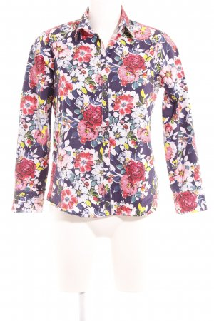 Lands' End Langarm-Bluse florales Muster Street-Fashion-Look