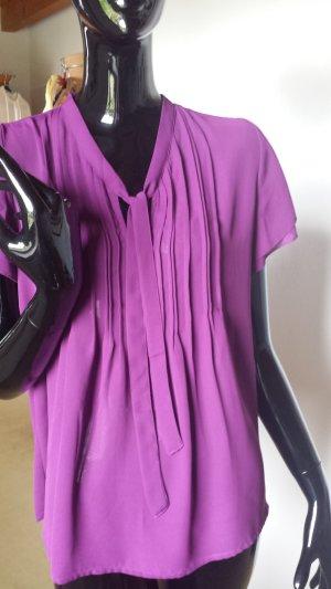 Lands' End , leichte violettfarbene Bluse, Gr. 38 NEU