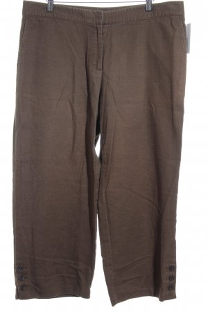 Lands' End Leinenhose bronzefarben-graubraun Street-Fashion-Look
