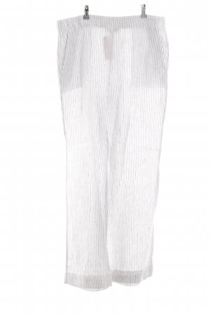 Lands' End Linen Pants white-light grey striped pattern casual look