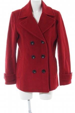 Lands' End Peacoat rot Casual-Look