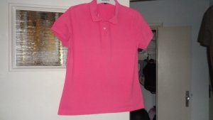 Lands' End Polo rose coton