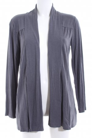 Lands' End Poncho blau Casual-Look
