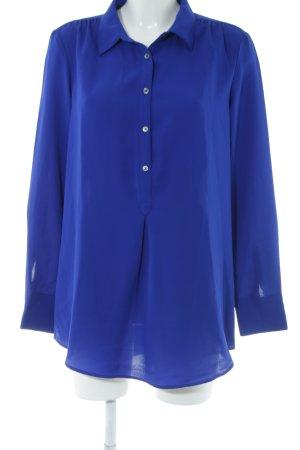 Lands' End Schlupf-Bluse blau Elegant
