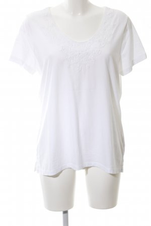Lands' End Shirt Tunic white casual look