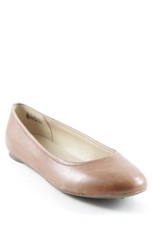 Lands' End Slingback Ballerinas cognac-coloured casual look