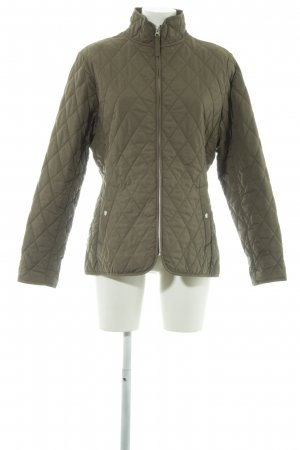 Lands' End Steppjacke grüngrau Steppmuster Segel-Look