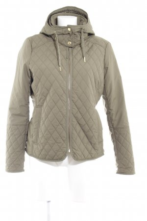 Lands' End Steppjacke khaki Steppmuster Casual-Look