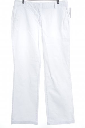 Lands' End Straight-Leg Jeans weiß Jeans-Optik
