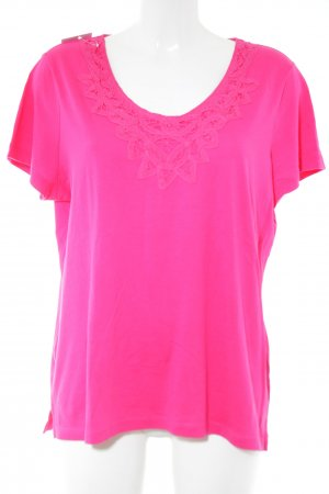Lands' End T-Shirt pink Casual-Look