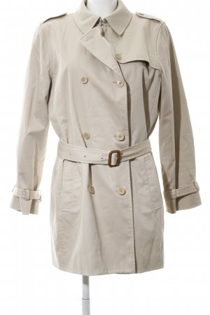 Lands' End Trenchcoat wollweiß Casual-Look