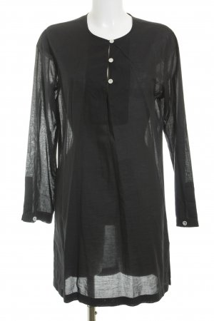 Lands' End Tunikakleid schwarz Casual-Look