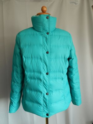 Lands' End Down Jacket turquoise mixture fibre