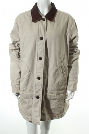 Lands' End Winter Jacket oatmeal casual look